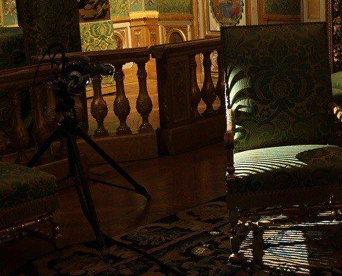 Scan 3D d'un mobilier de château avec le scanner Breuckmann - Digitage
