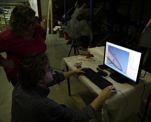 Scan 3D pour un musée - Digitage