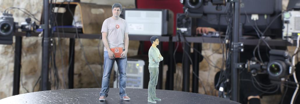 Statuettes de personnes imprimées en 3D - Digitage