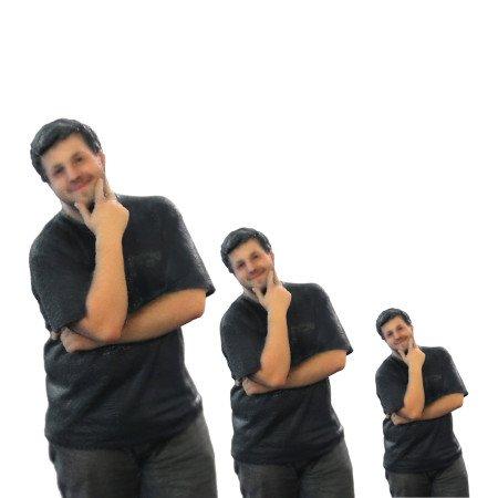 Figurines d'une personne imprimées en 3D à différentes échelles - Digitage