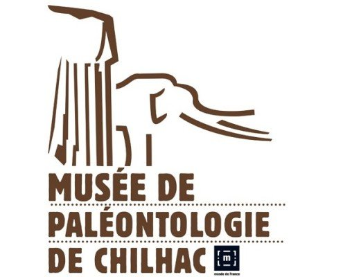 Logo musée de paléontologie de Chilhac