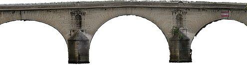 Vue du Pont Marie à Paris à partir du modèle 3D - Digitage