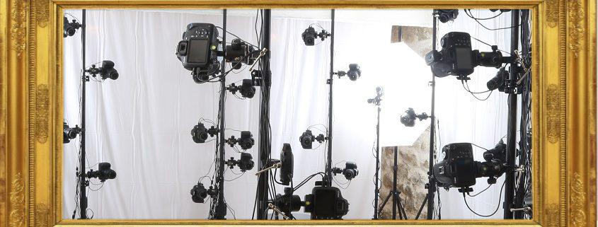 le studio de scan 3D, offrant la possibilité d'un bodyscan pour recréer une doublure virtuelle exacte de n'importe qui, est désormais installée chez Digitage