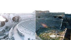 reconstitution grace au scan 3D de sites archéologiques dans des zones dangereuses à iconem
