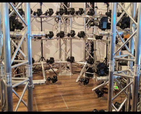le nouveau studio de scan 3D digitage se dévoile, avec 62 appareils photos pour une très haute définition d'image lors de la numérisation