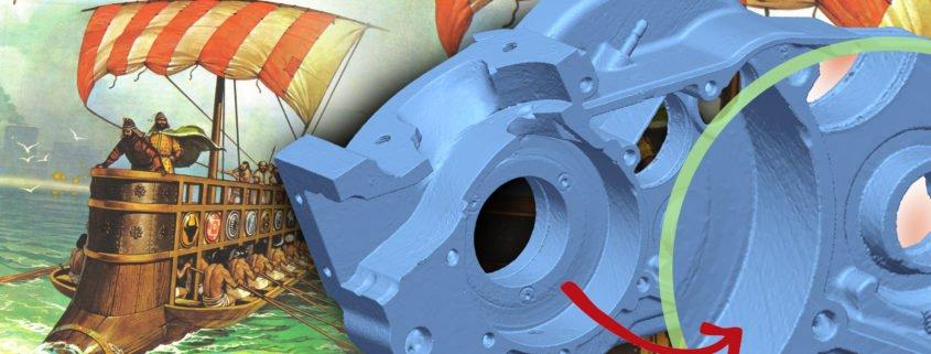 la rétro-ingénierie permet de comprendre et d'améliorer des objets après les avoir scannés et numérisés en 3D