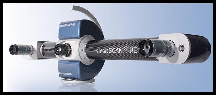 le scanner breuckmann permet une parfairte calibration pour le scan 3D