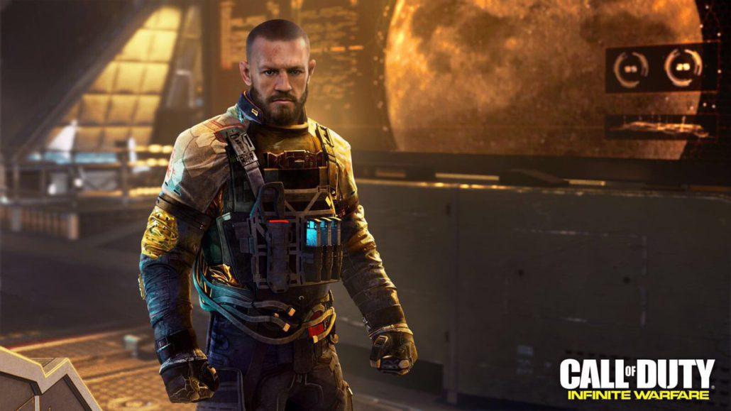 conor mcgregor numérisé en 3D dans le jeu call of duty
