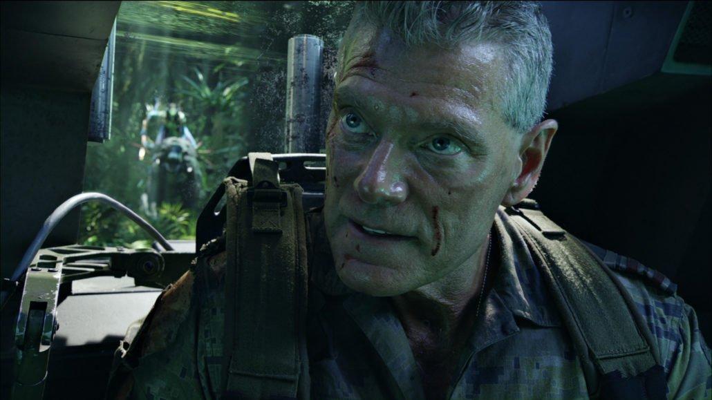 l'acteur Stephen Lang a été entièrement numérisé pour le film avatar, afin de placer son double digital dans l'univers virtuel