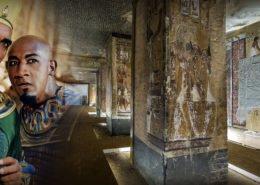 reconstituer un fac-similé du tombeau de Seti 1er, la prouesse a été réalisée par l'équipe de Factum Arte graçe au scan 3D et aux technologies de numérisation de pointe
