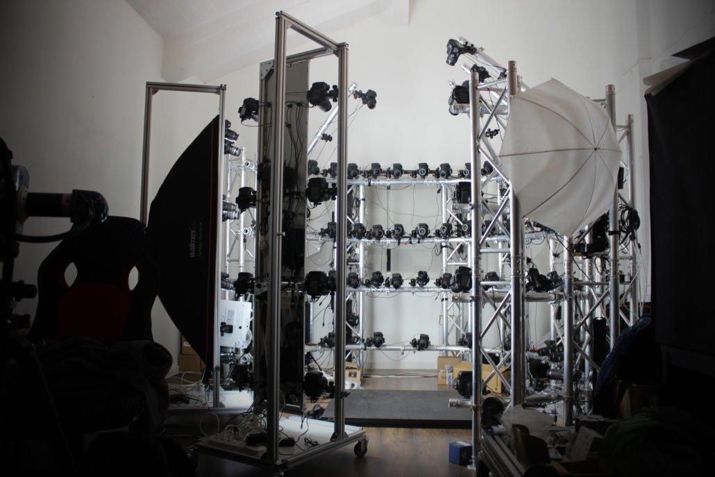 notre studio 3D tel qu'il est en ce moment, en attendant d'avoir tout assemblé !