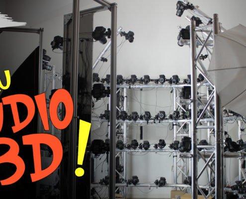 le studio 3D de digitage est en préparation pour une qualité de nos modèles 3D en encore plus haute résolution. Plus que jamais à la pointe du scan 3D;
