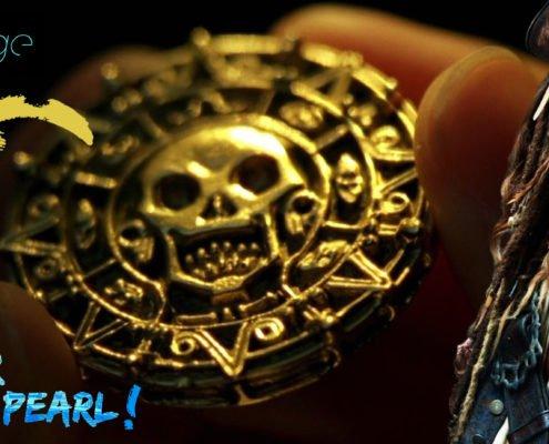 Recréer le trésor aztèque appartenant au capitaine Barbossa ? On va faire notre possible pour aider ce bon vieux Jack Sparrow