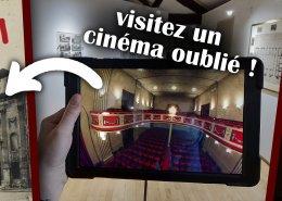 reconstitution en 3D à partir de plans et de rapports, le cinéma de Mantes-la-Jolie renait de ses cendres