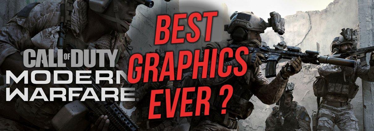 avec la photogrammétrie et la technologie de ray tracing, Call of Duty Modern Warfare devrait proposer des graphismes photoréalistes et révolutionnaires