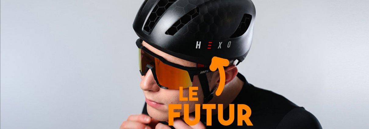 grace au scan 3d, le casque Hexo est personnalisé et imprimé en 3d