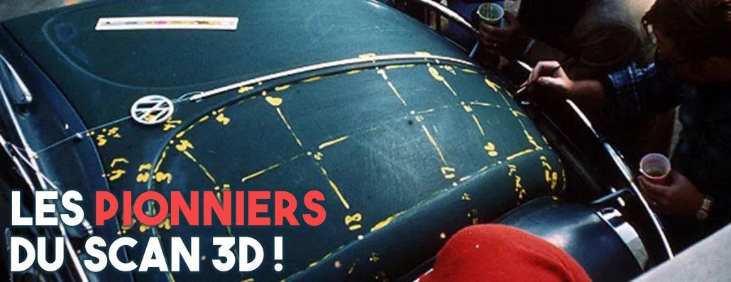 la voiture volkswage beetle a été le premier objet scanné en 3d